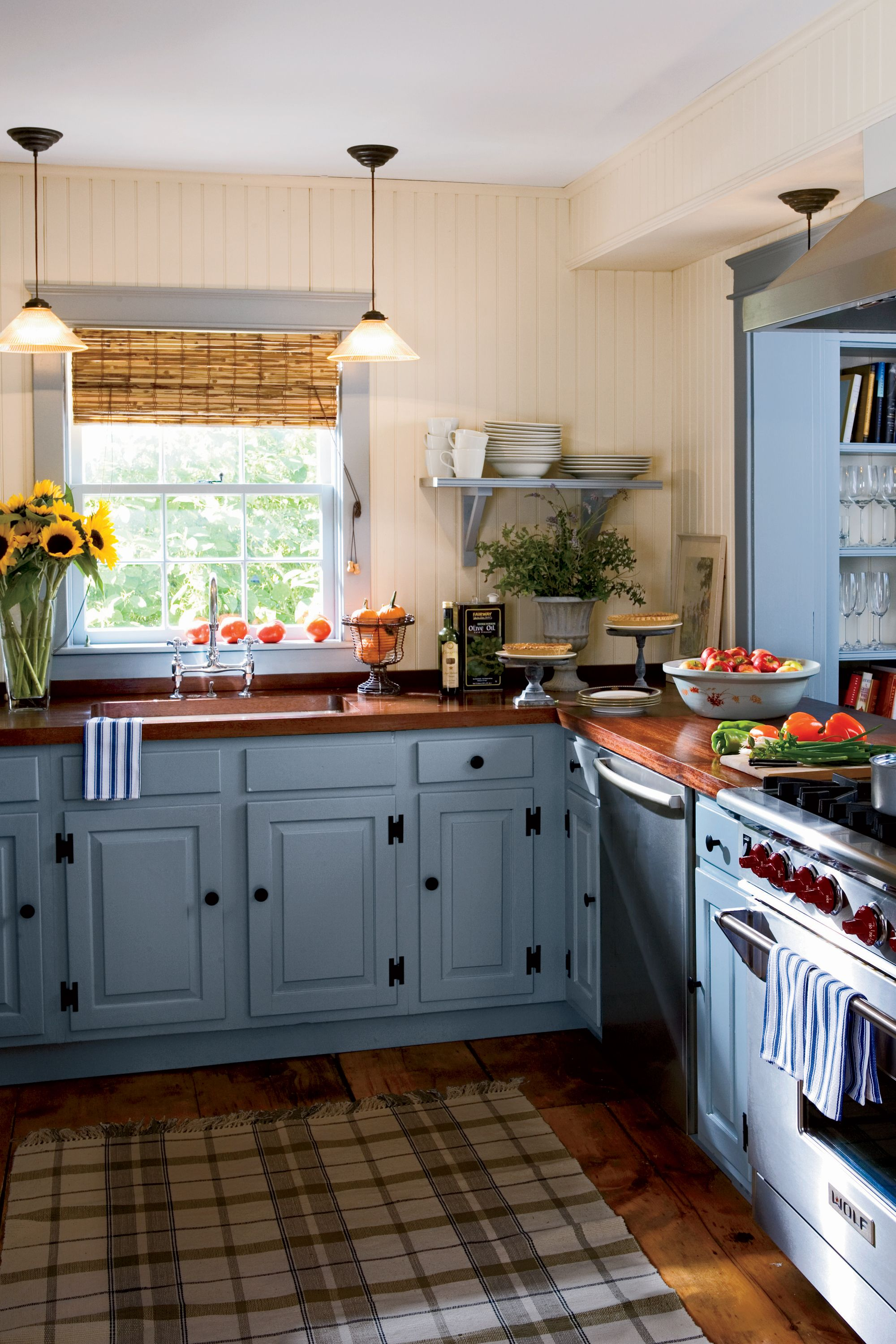 15 Ways To Add Color To Your Kitchen Sag Harbor Open
