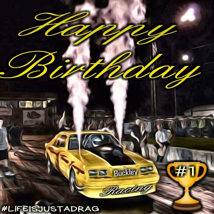 Happy Birthday Drag Racing Mustang Happy Birthday Memes