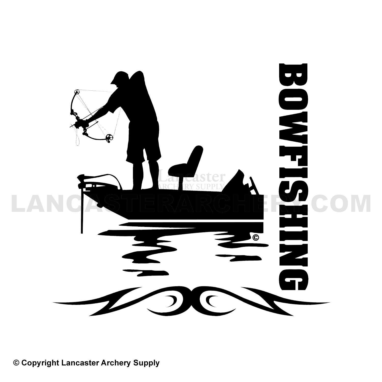 Bowfishing Decals Outdoor Decals