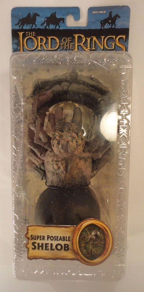 The Lord Of Rings Return King Shelob Toy Biz Spider Action Figure