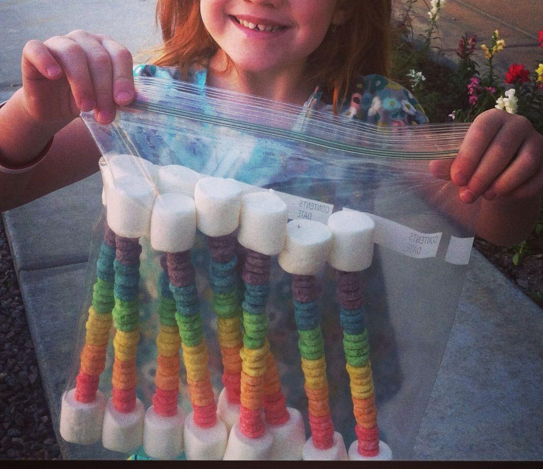 Best 25 Rainbow Snacks Ideas