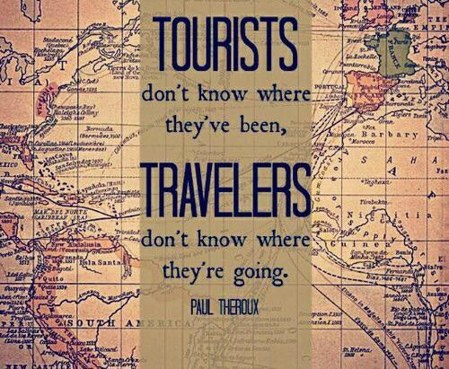 Touris or Traveler, Paul Theroux