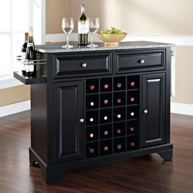 have to have it. crosley newport solid granite top wine island in