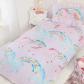 Kids single duvet set unicorn single bedding sets duvet sets