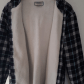 Mens hooded flannel jacket  Womens size L faux fur hooded flannel  Hooded flannel Flannels and Fur
