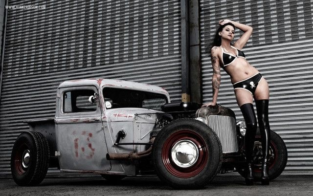 Pin Rat Rod Pinups Sales On Pinterest