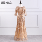 buy here potnupatio elegant oneck half sleeve floorlength