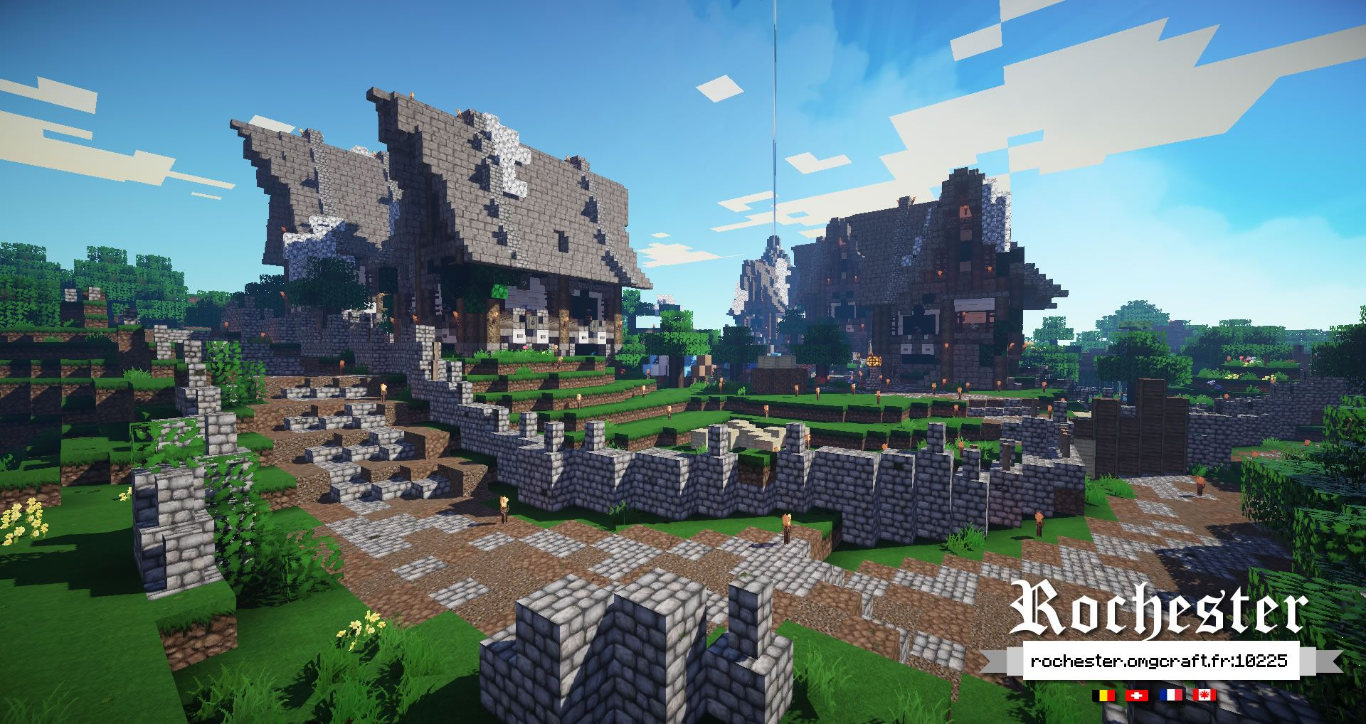 Minecraft Medieval Fantasy Construction Minecraft