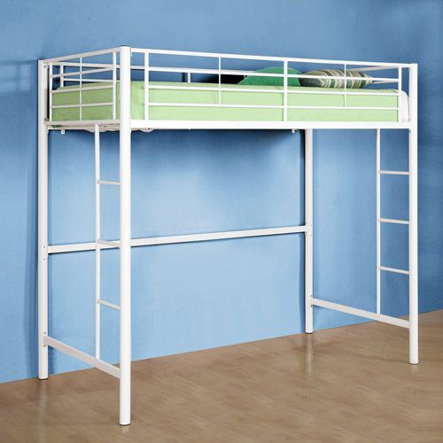 Twin Metal Loft Bed Multiple Colors Twin Metals And