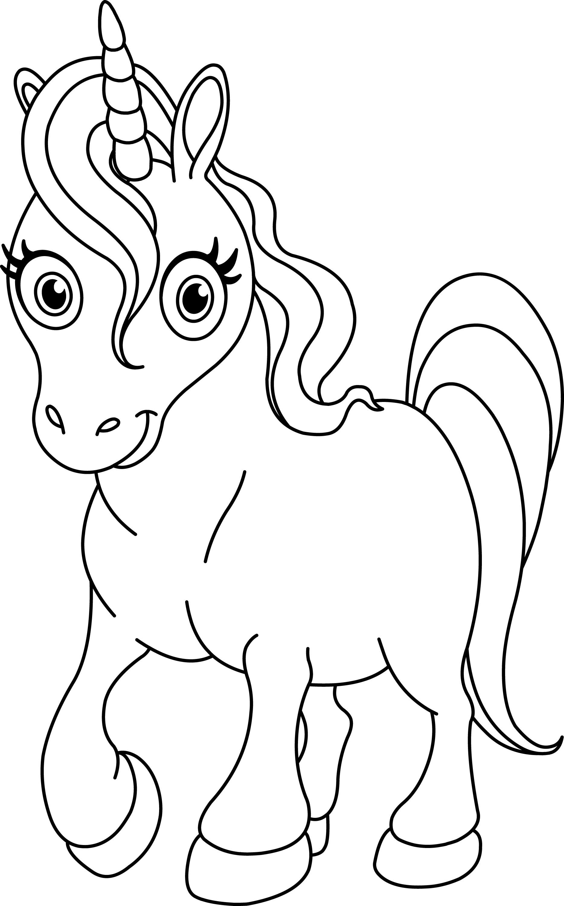 Pay Attention For This Explanation To Do The Unicorn Coloring Pages Printable
