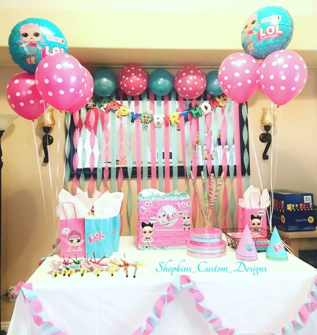 Lol surprise birthday party lol doll surprise party