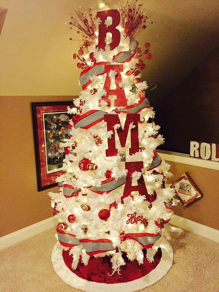 Alabama Christmas Tree Love This Roll Tide
