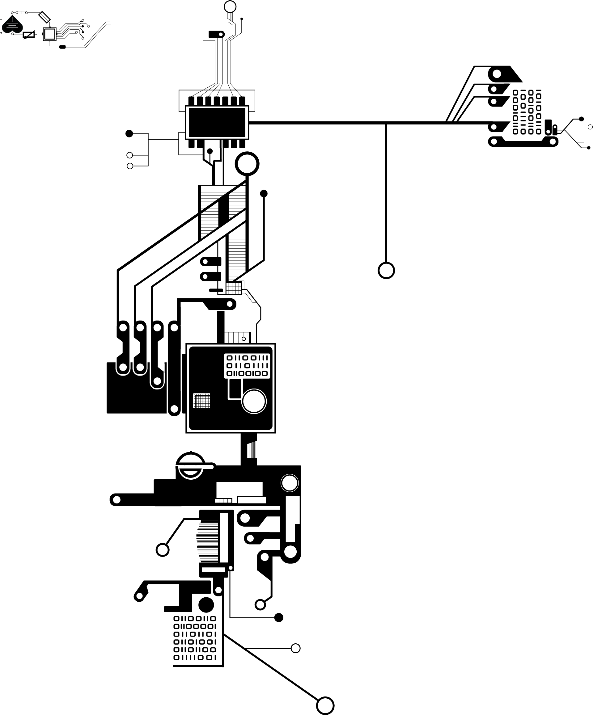 Circuit Ink Scale