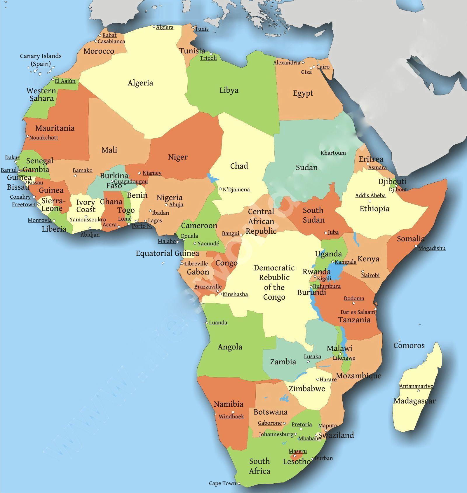 Africa Map1