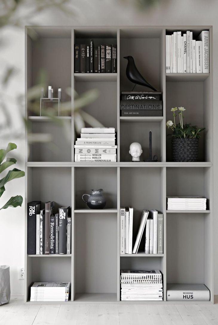 IKEA hack med  snygga lösningar på förvaring  Modern bookshelf