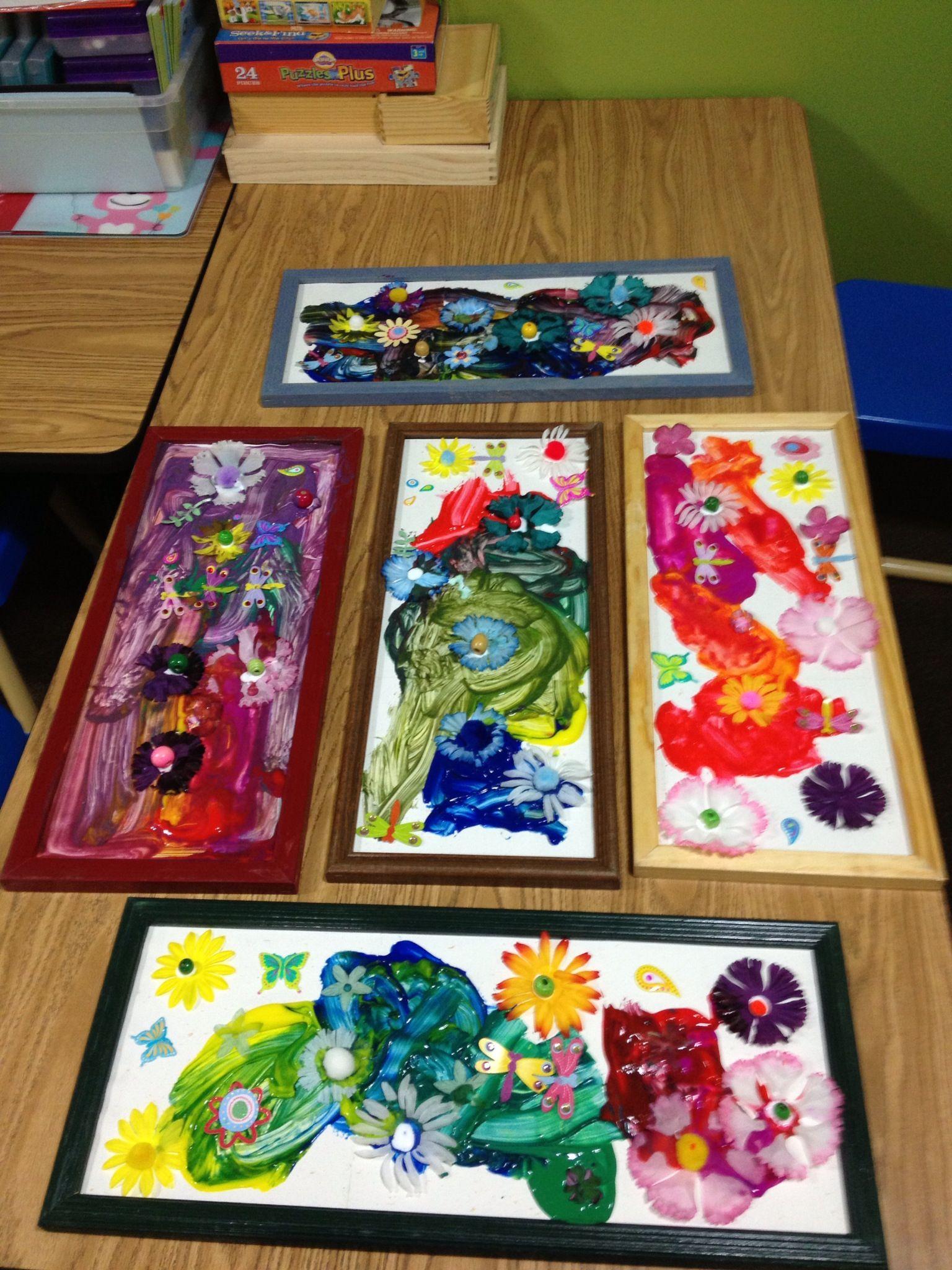 Preschool Spring Art Work Idea Pinned By Child Care Aware