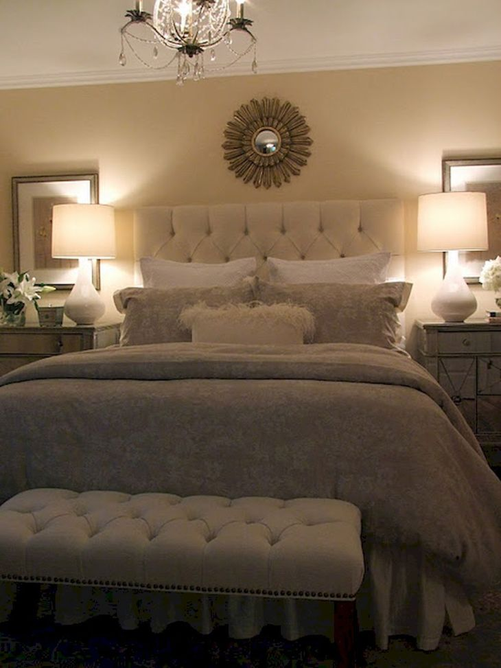 Beautiful Master Bedroom Decorating Ideas  Small master bedroom