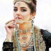 Hot Pakistani model cultural dress