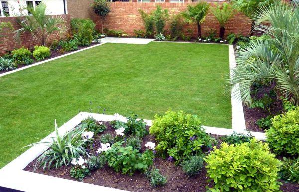 idea simple garden landscaping Simple Garden Designs No Fret Small Garden Design