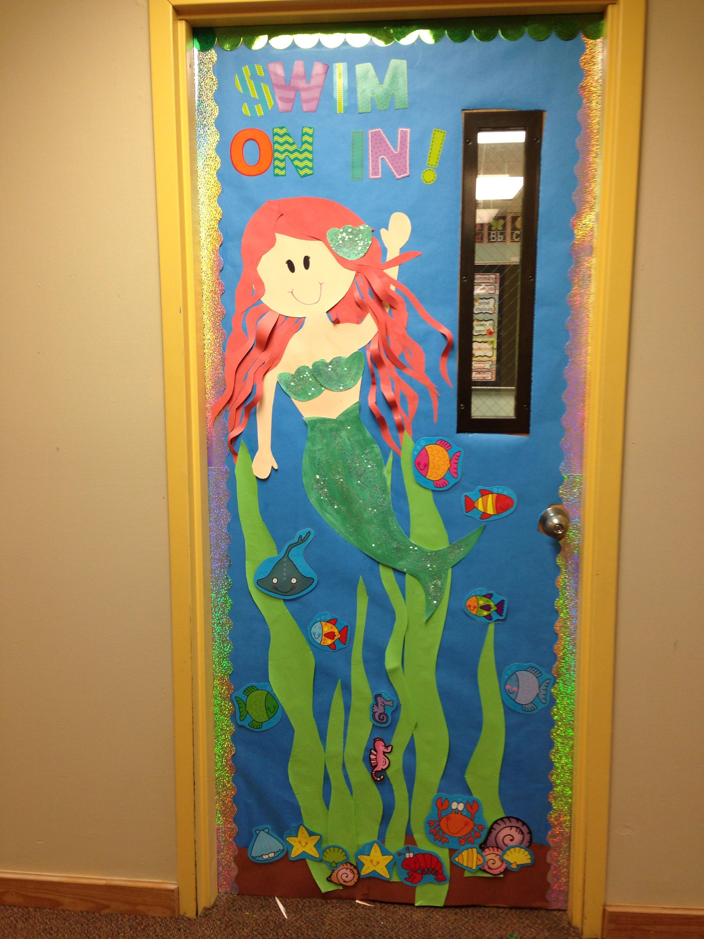 Under The Sea Door My Daughter Would Of Loved This When She Was Little Red Heads Are Just Too