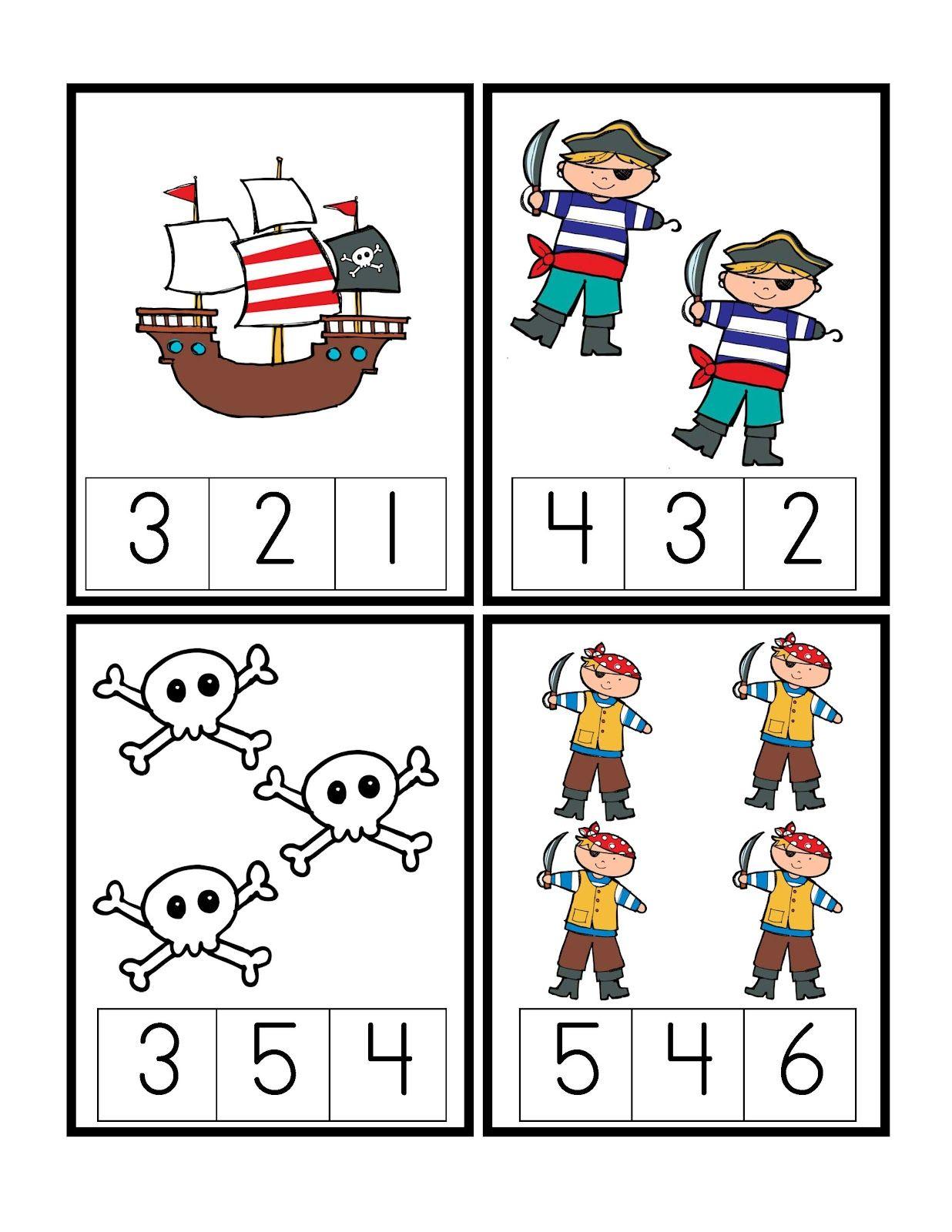 Pirate Theme Kindergarten Activities