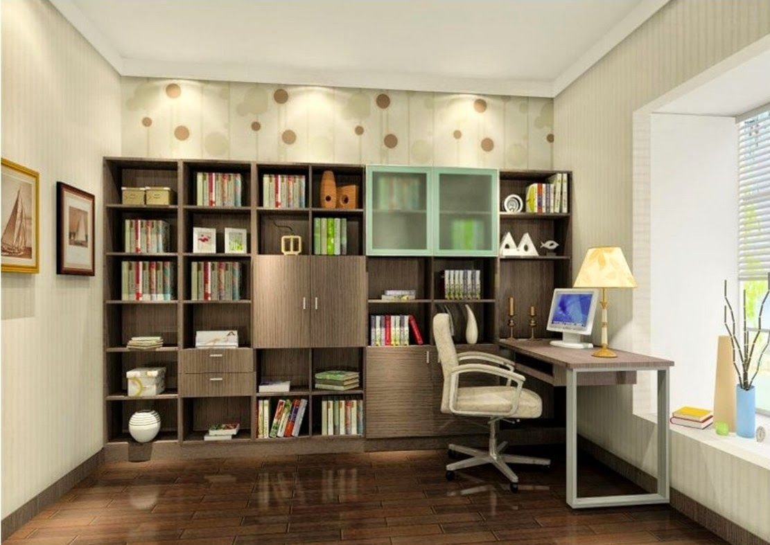 modern+study+room+interior+design (1111×787) | interior
