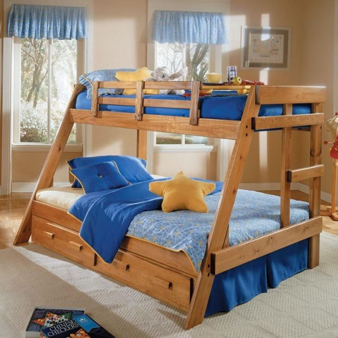 Savannah A Frame Twin Over Full Bunk Bed 499 98