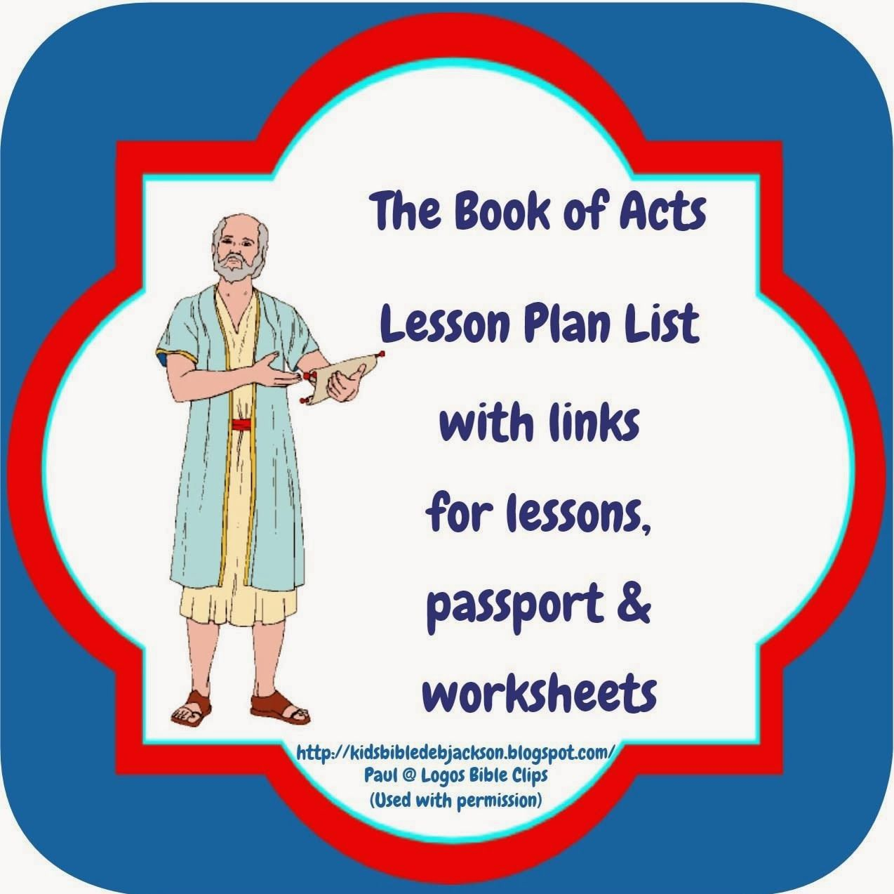Great Bible Class Ideas For The Book Of Acts