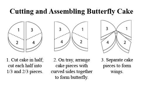 Check Out Butterfly Cake Its So Easy To Make