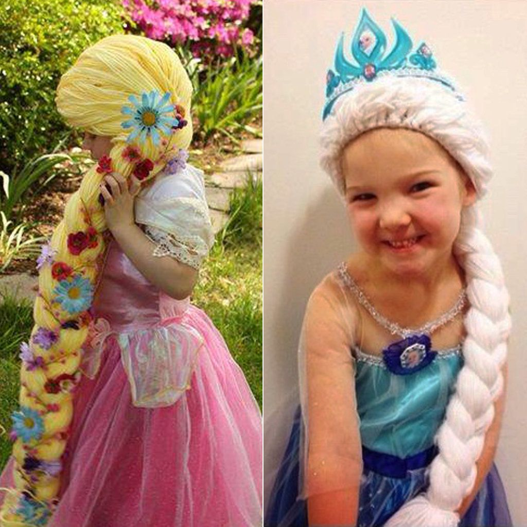 How This Nurse S Magic Yarn Wigs Are Helping Kids With