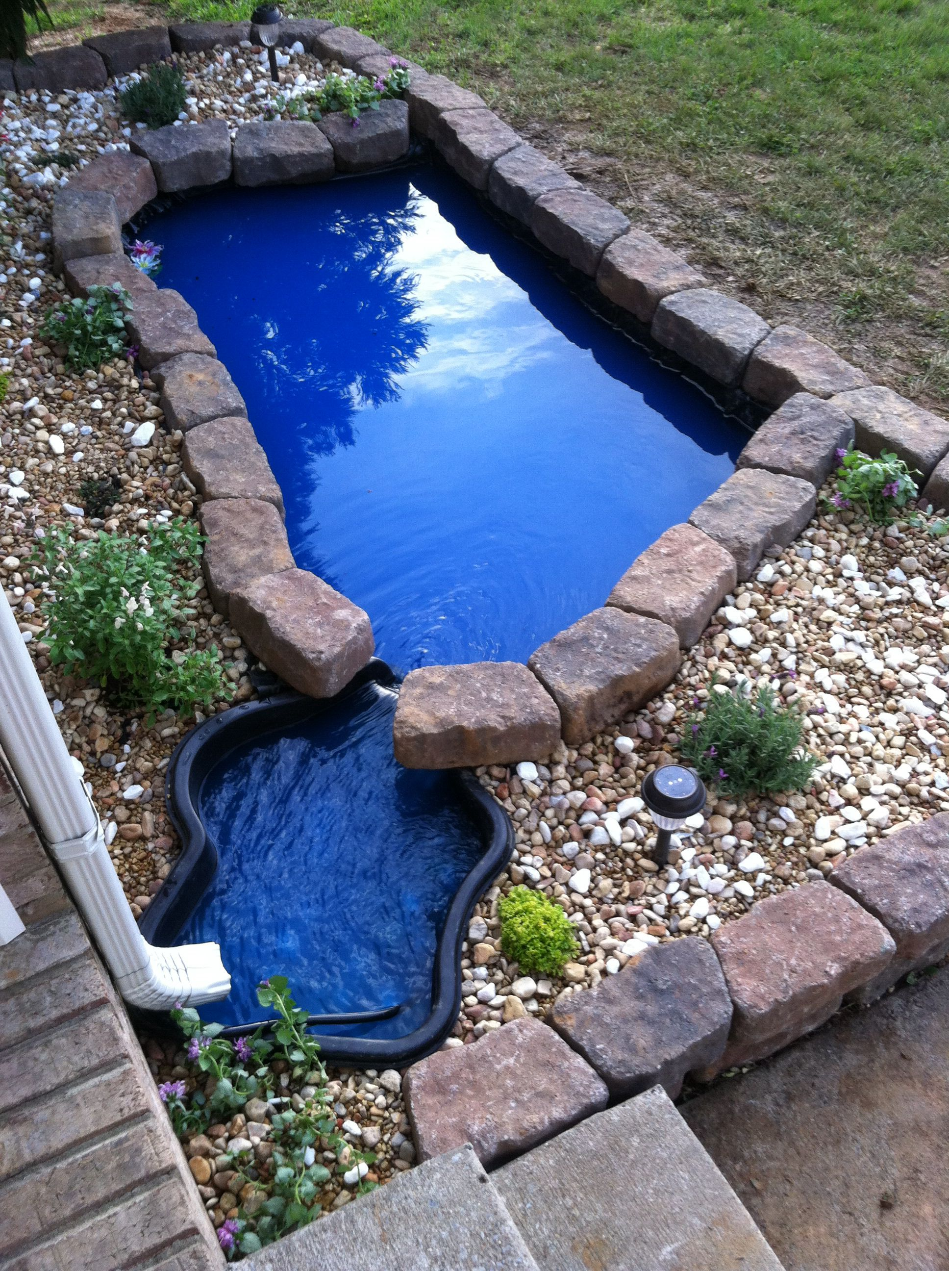 Front yard ponds.   For the Home   Pinterest   Yards ... on Front Yard Pond  id=94424