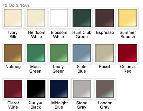 Rust Oleum 2x Paint Color Chart Ultra Cover Satin Stone