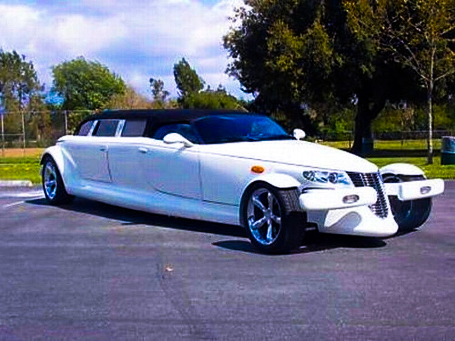 Plymouth Prowler Stretched Limousine big limos custom