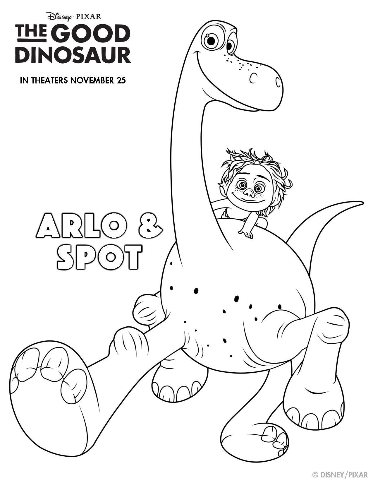 Disney Pixar S The Good Dinosaur Printables To Make Your