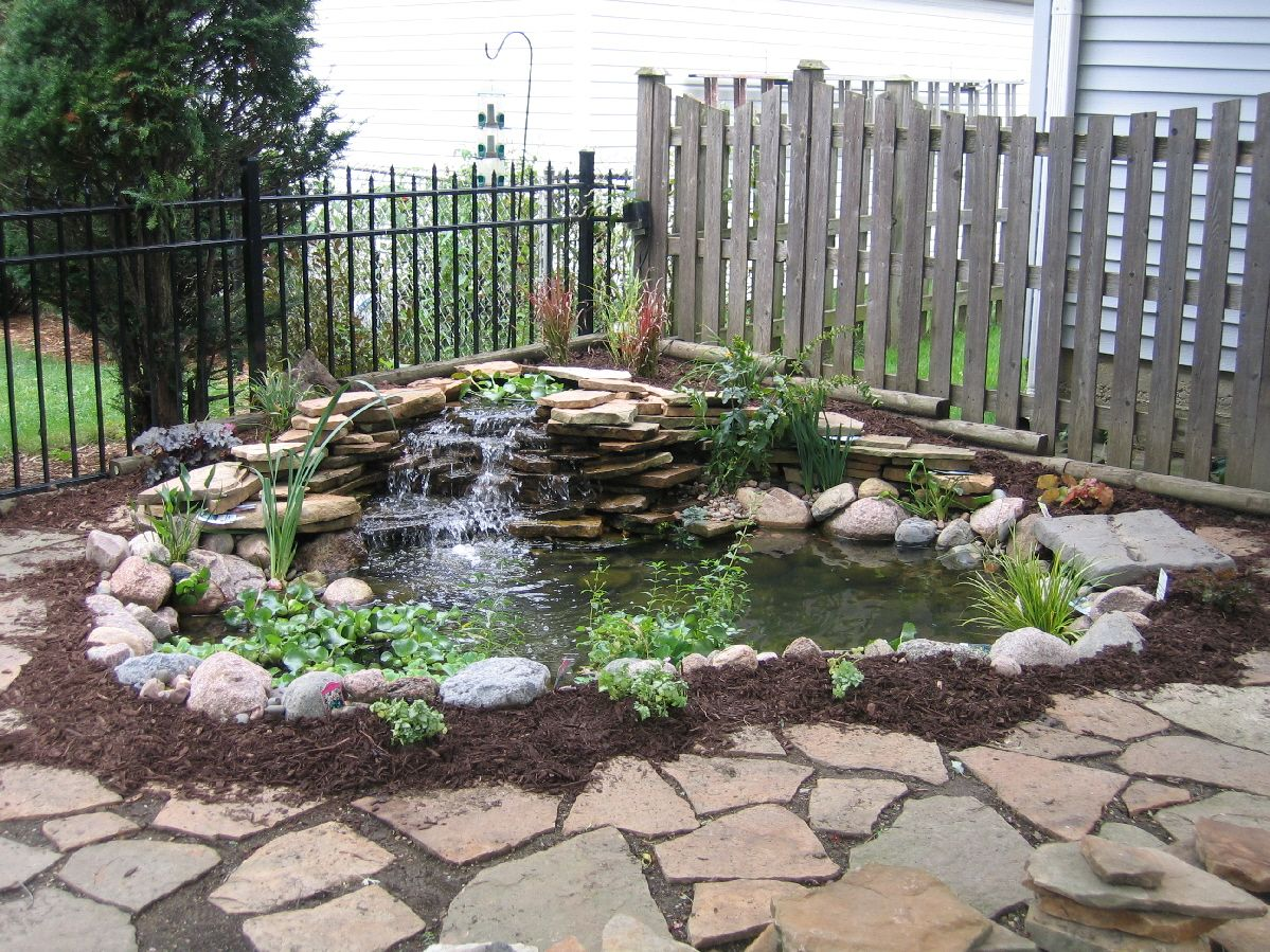 Small Pond Waterfall Ideas   Aquatic landscaping, Ponds ... on Small Pond Waterfall Ideas id=72262