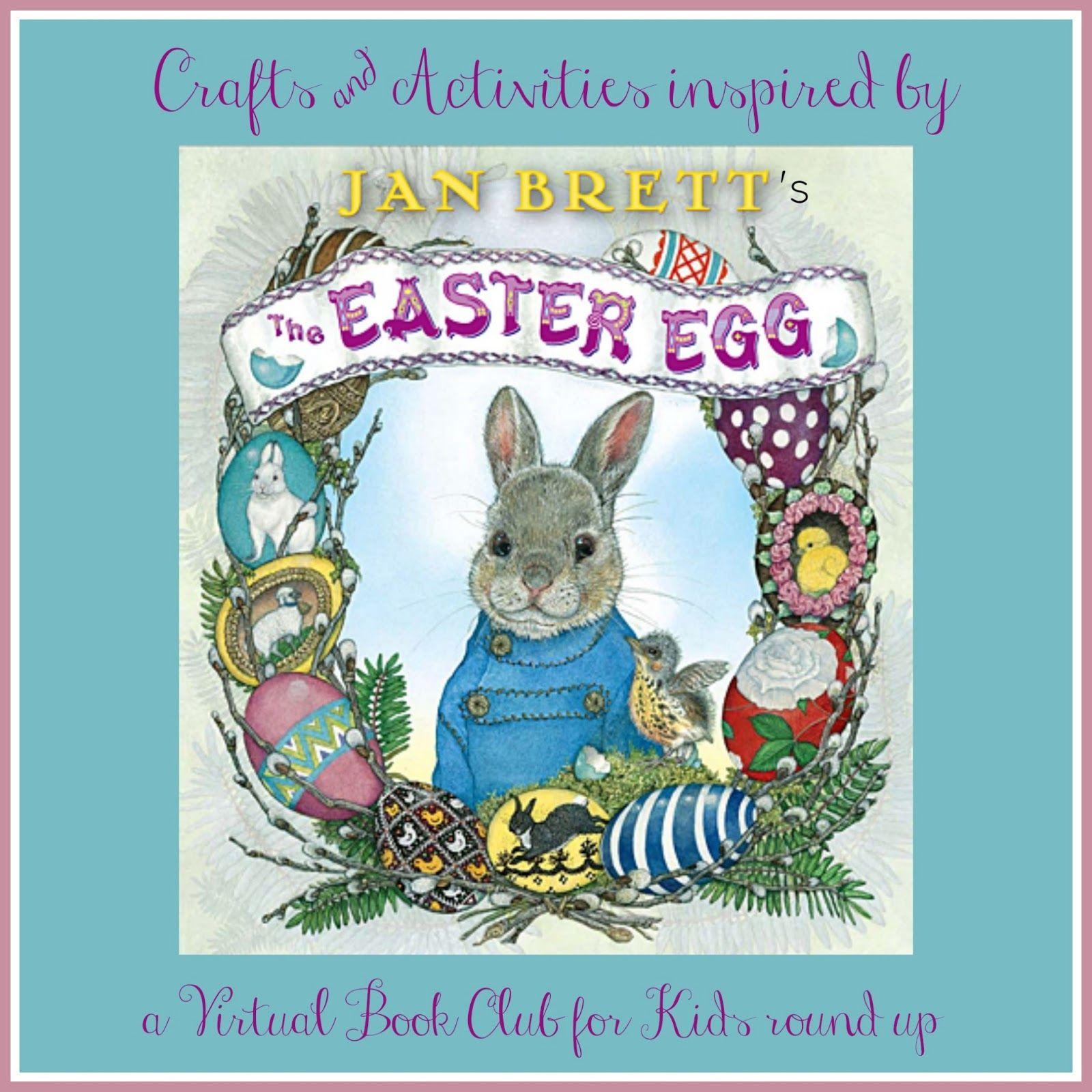 Jan Brett Inspired Easter Egg Crafts Amp Activities