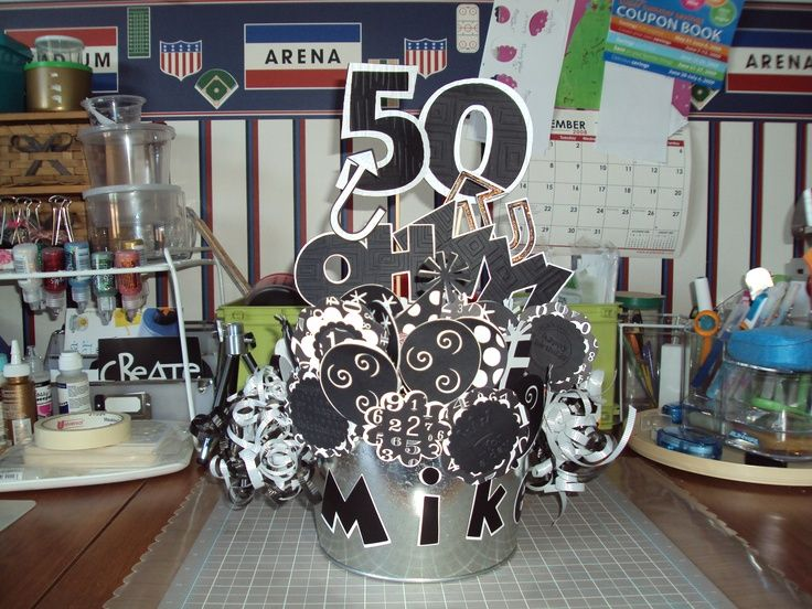 Decorations For A Man S 50th Birthday Party