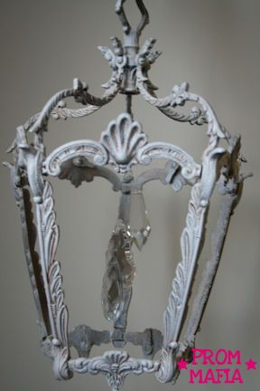 Find This Pin And More On Diy Home Decor Image Detail For Shabby Chic Chandelier