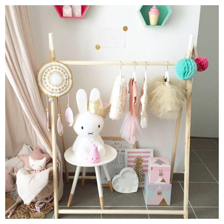 bohoaddict Babygirl Nursery Scandinavian Nursery Pink u Gold