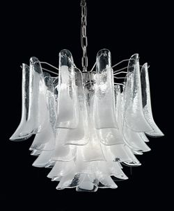 Italian Glass And Crystal Chandeliers Lighting For Hotels Bars Or Private Homes Murano