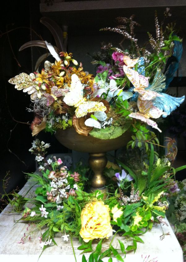 Fairy land centerpieces for a midsummer nights dream on a ...