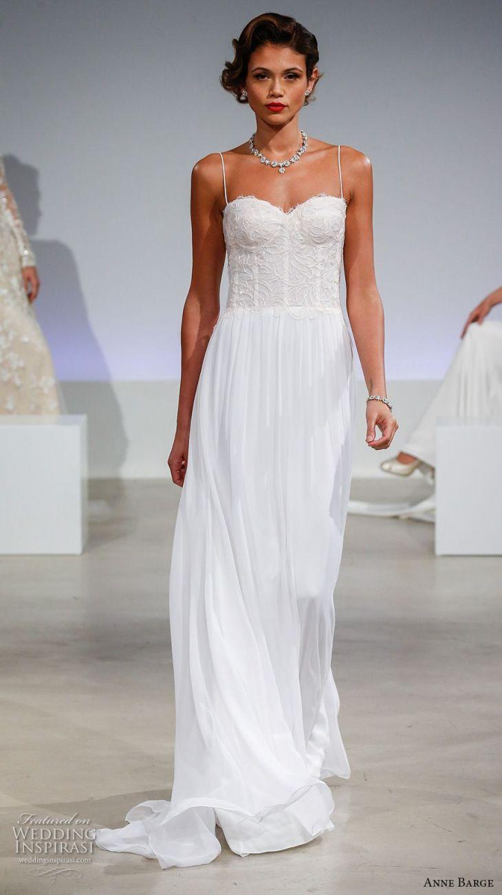 Anne Barge Fall  Wedding Dresses  Wedding dress straps Anne