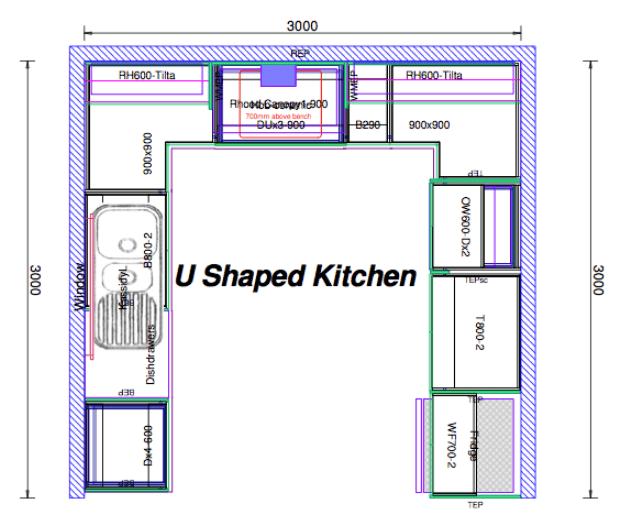 u shaped kitchen layout ideas kitchen design ideas pinterest kitchens kitchen design and on kitchen ideas u shaped layout id=20388