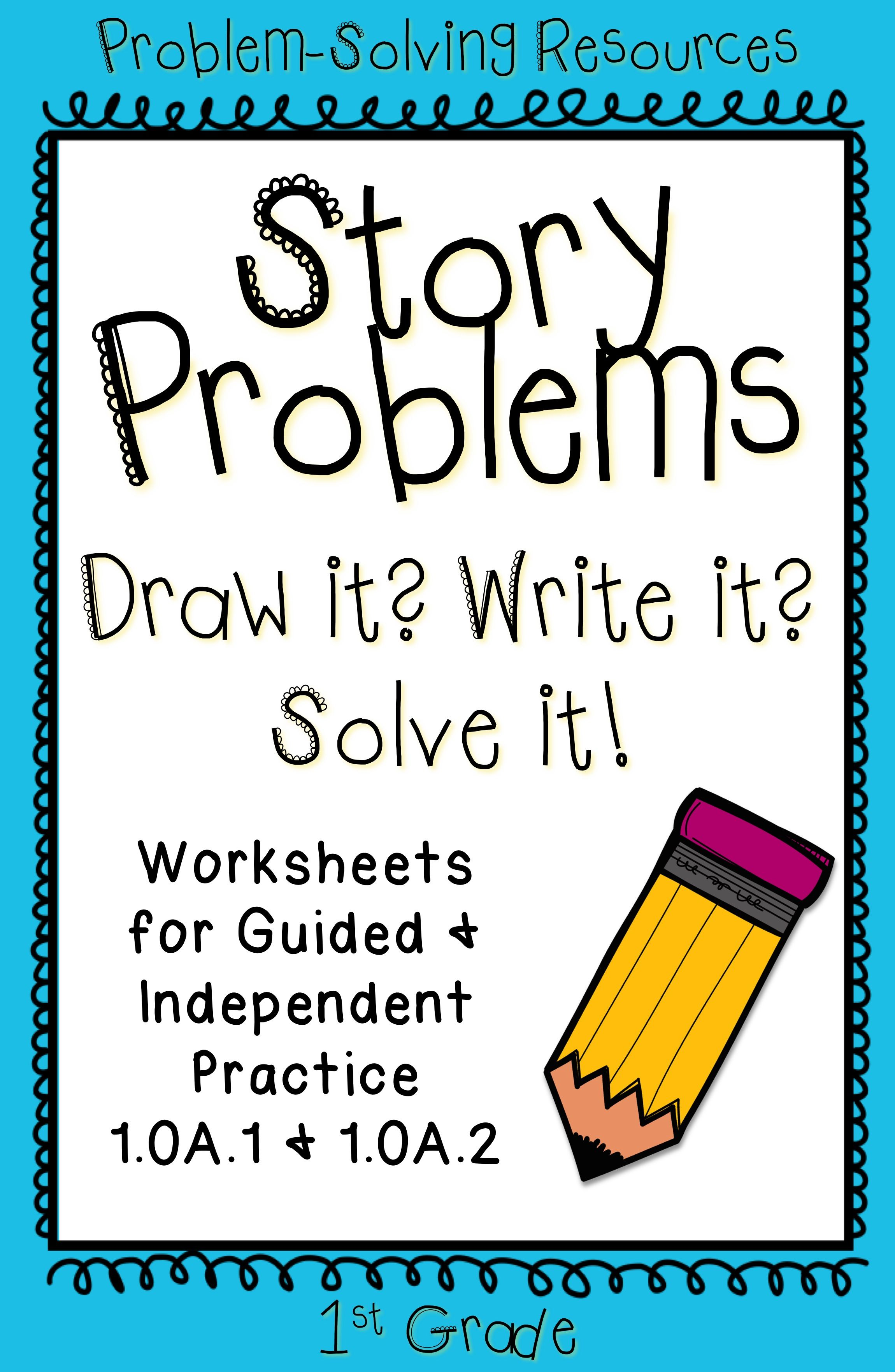 Word Problems For First Grade 1 Oa 1