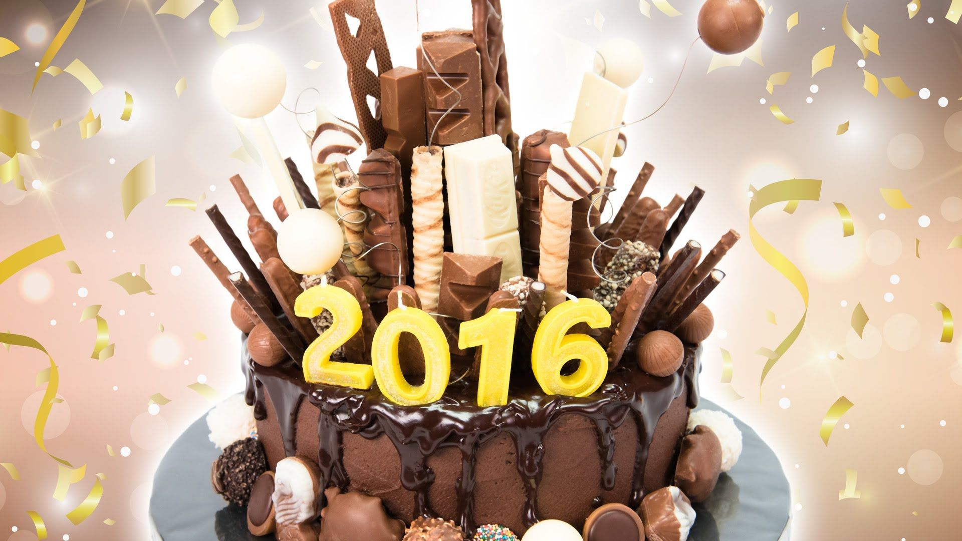 New Years Eve Chocolate Explosion Cake Tutorial From