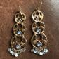 Body piercing earrings  Liz Claiborne chandelier type pierced earrings  Liz claiborne