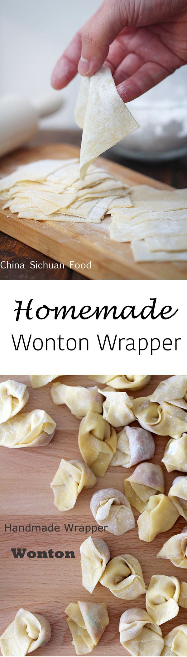 Wonton Wrappers Recipe Without Egg | Chekwiki.co