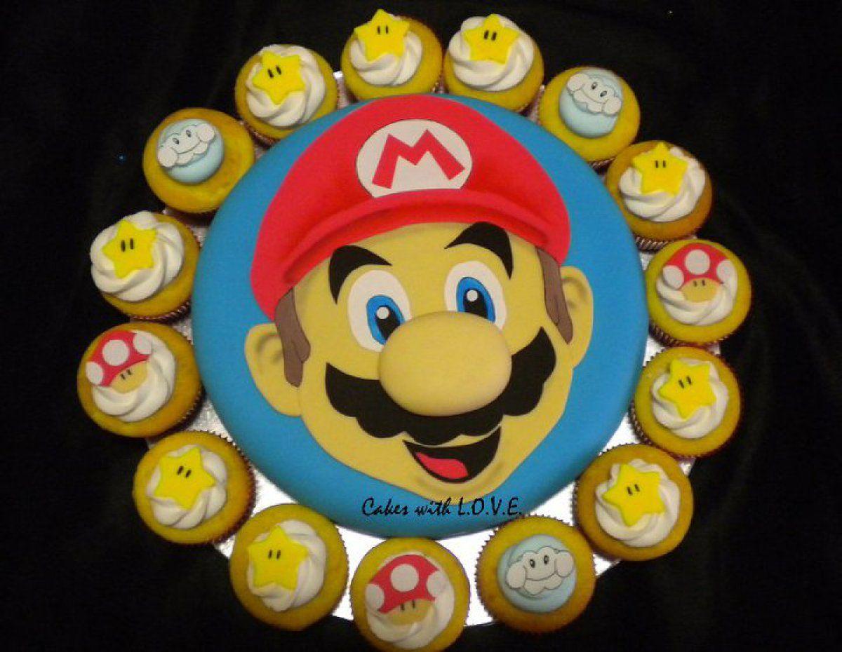 Mario Bros Cake Theater