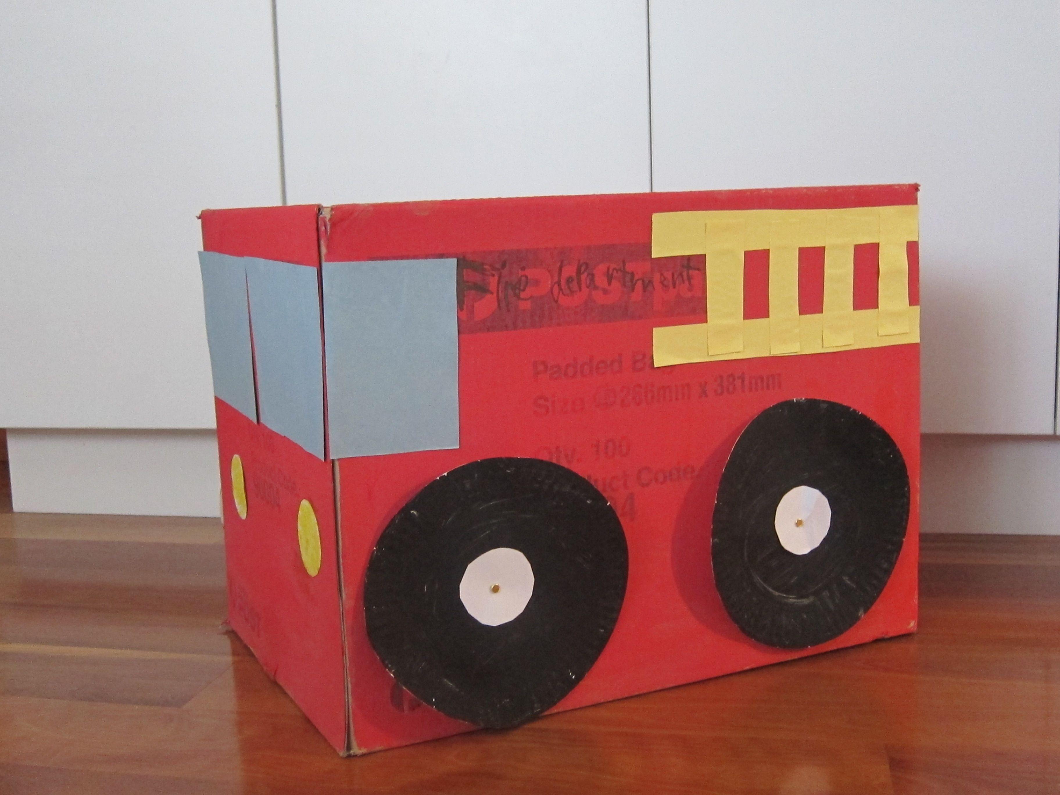 Fire Truck Worksheet For Preschool