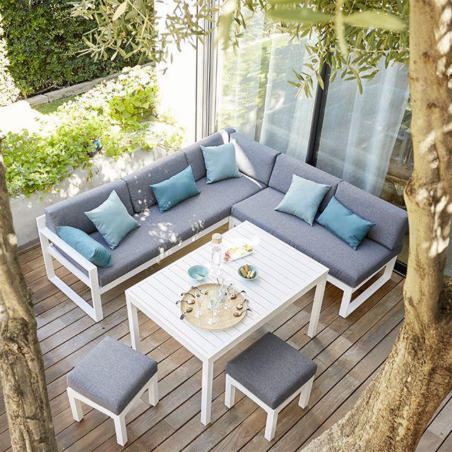 Amazing Salon De Jardin En Mtal Collection Batang